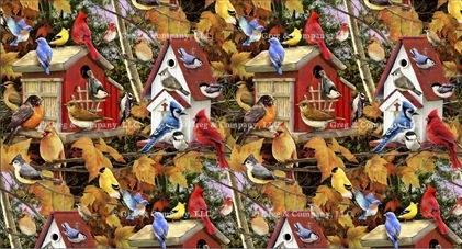 GREGCO Fall Birdhouse