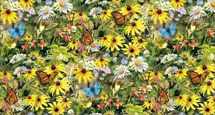 GREGCO Hummingbirds-Butterflies