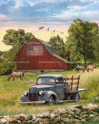 GREGCO 494 Truck and Barn