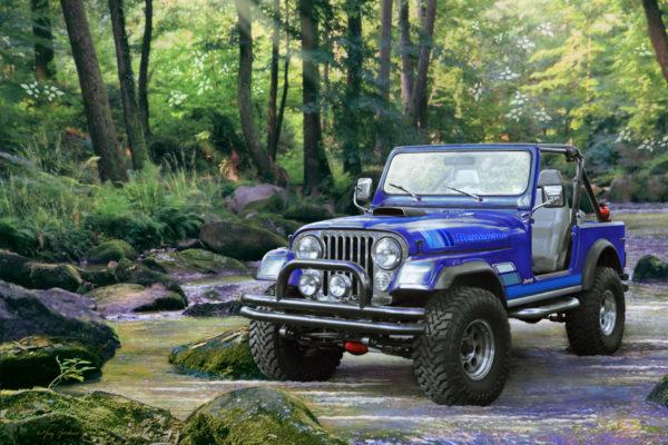 GREGCO Greg Giordano AA 507 CJ Jeep