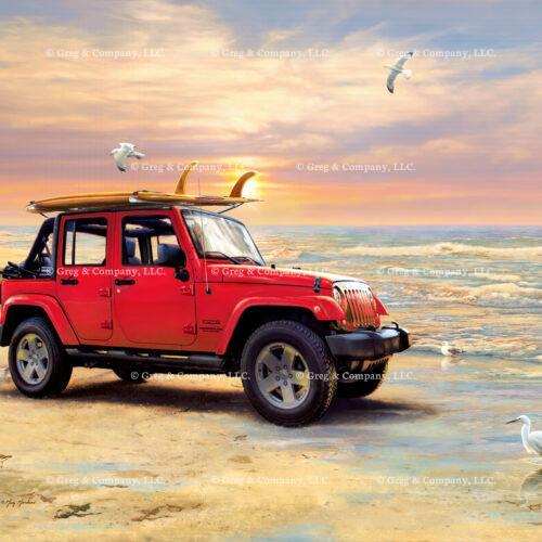 GREGCO Greg Giordano Red ZZZ AAA 505MA Jeep Wrangler